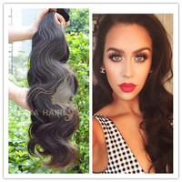 Natural color double weft indian remy hair drop shipping wholesale human hair