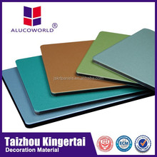 Alucoworld bathroom plastic wall panels corrugated sandwich panel aluminum composite panel