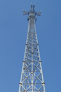30M-70M triangular Radio communication tower