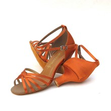 China Wholesale fashion lady girls ballroom latin dance shoes made in China