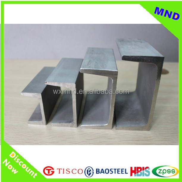 steel u type channel for construction alibaba supplier