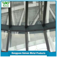 Factory price customized size decorative Light Steel Frame Skylight Dome Type building glass roof