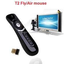 T2 2.4G Wireless Air Mouse 3D Motion Stick for PC Laptop Android TV Box Remote