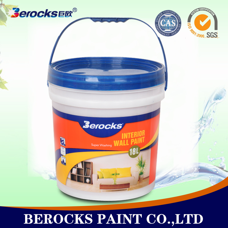 High Quality Waterborne Interior Wall Paint Fibre Decor Wall Coating