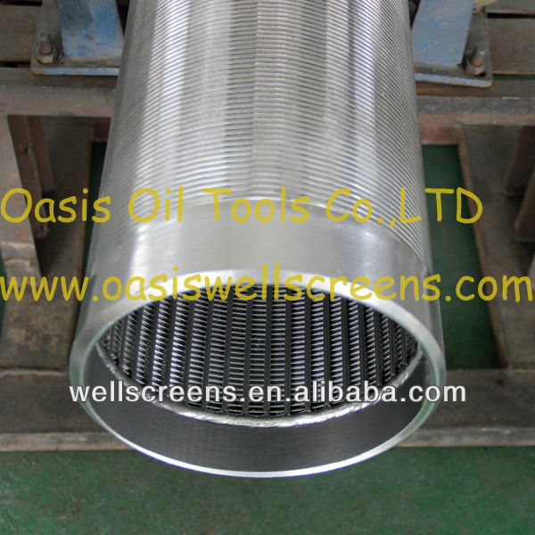 Sand Control Johnson Type Screens/ V Wire Screen Filter