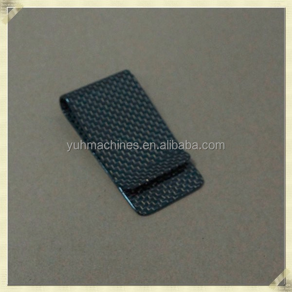Fashionable Money Clip Carbon Fibre
