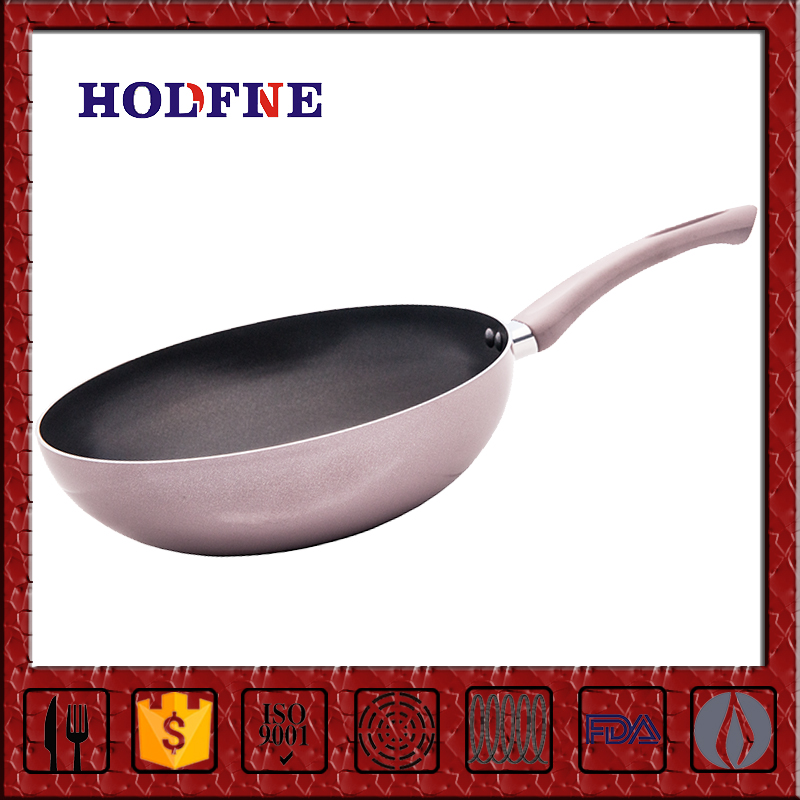 Home Kitchen Cooking Non-stick Polychrome with Handle 5 Sections Divided Non-Stick Grill Master Frying Pan