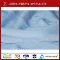 Tela de manta solid color 100% polyester polyester para mantas fabric flannel fleece fabric JC04208
