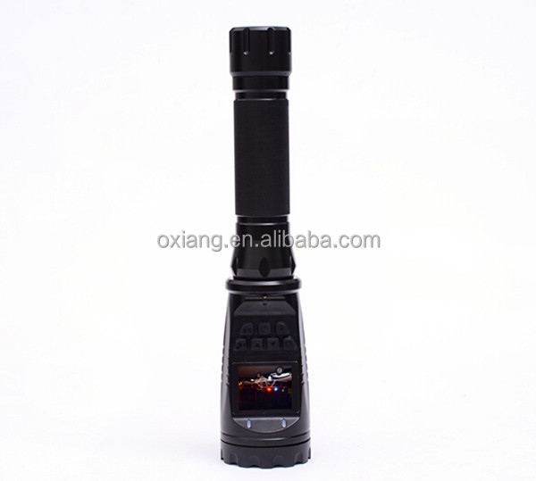 High power CREE LED aluminum rechargeable police flashlight