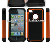 PC+Silicone Moshi Case for iphone 5/ Housing Skin Case for iphone 5/5g
