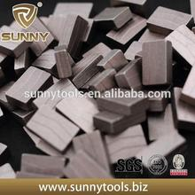 Plastic diamond segment with great and preferential price