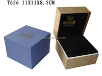 Factory Custom Faux Leather Watch Gift Storage Box Display Case T656