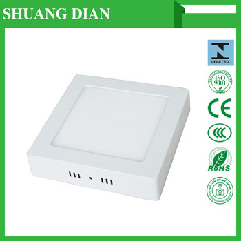 2016 newest china manufactuer surface mounted led square panel light for home decoration