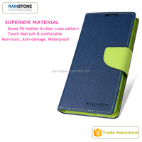 New arrival fashion goospery mercury case for sony Z2 leather case, fancy diary case