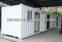CANAM- Metal frame mobile house/ catering trailer/prefab house