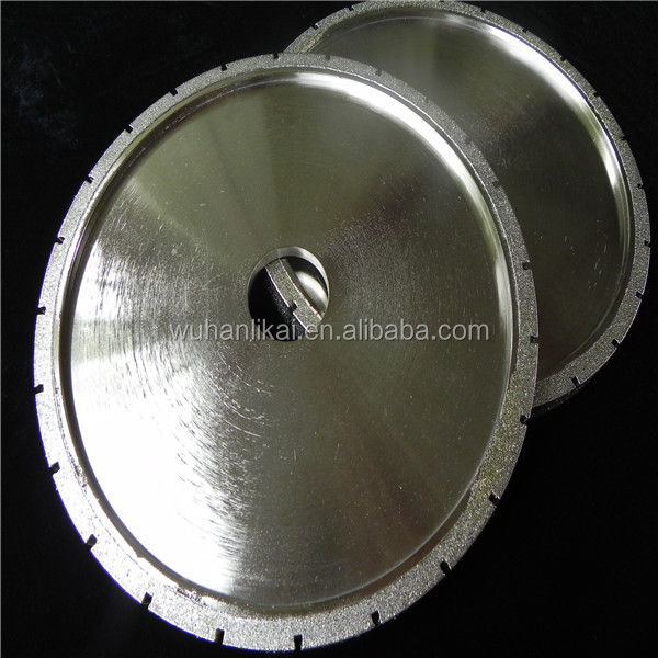 wuhan gold supplier stone electroplated diamond profile wheel