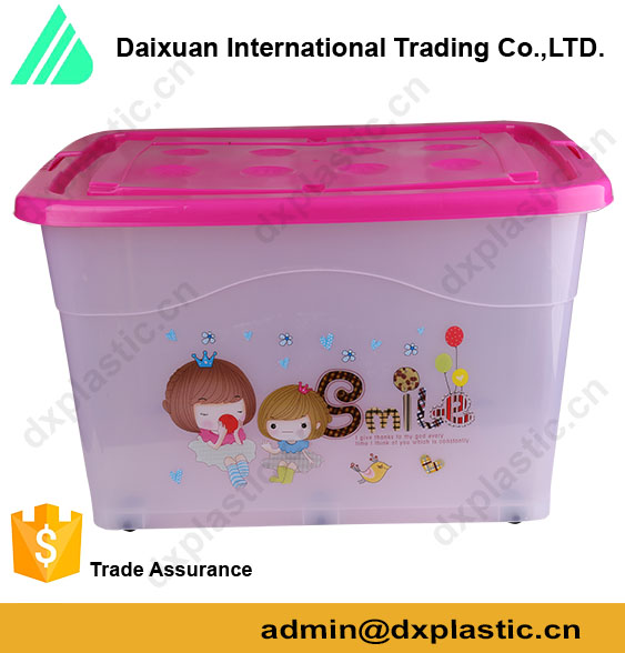 multifunctional 5kg plastic containers for containing clothes/food/books