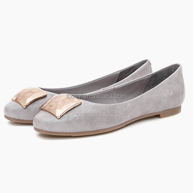 Manufacturer direct sale women ballets flat design pictures of shoes simple
