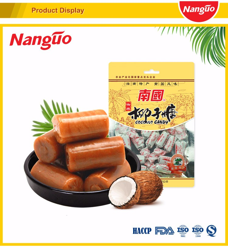 NANGUO Traditional Coconut Flavor Hard Candy 82G