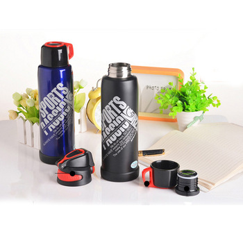 New insulated thermos stainless steel water bottle keeps drinks cold for up to 24 hours and hot for up to 12 hours