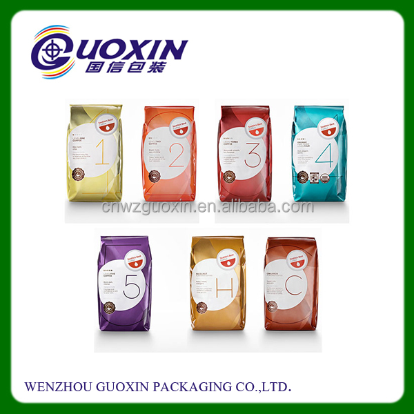 manufacture tea bag/printed compound coffee food plastic poly bag