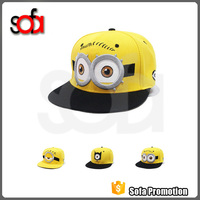 New arrival hot sale and cheap cartoon style cotton baseball hat/cap