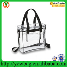 Fashion PVC handbag clear plastic ladies beach bag