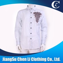 Wholesale Printed/Embroidered shirt latest new model shirt