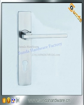 Zinc Door Handle Lock Set With Various Sizes
