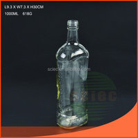 Best quality best-Selling whisky glass wine bottle