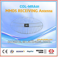 MMDS Receiving Antenna/receiver satellite dish antenna receiver
