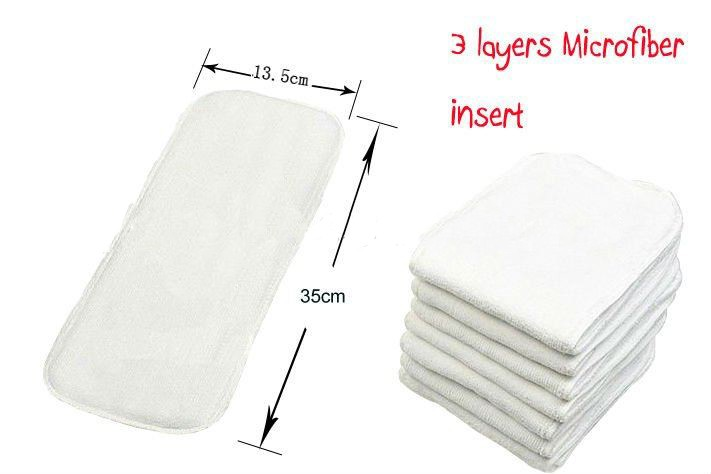 best absorbency for pocket diaper inserts
