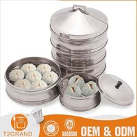Hot Sell Cheap Price Stainless Steel Commercial Chinese Bun Steamer