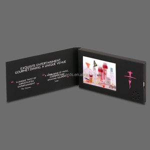 "High Quality Unique 4.3"" Customized LCD Video Brochure Factory"