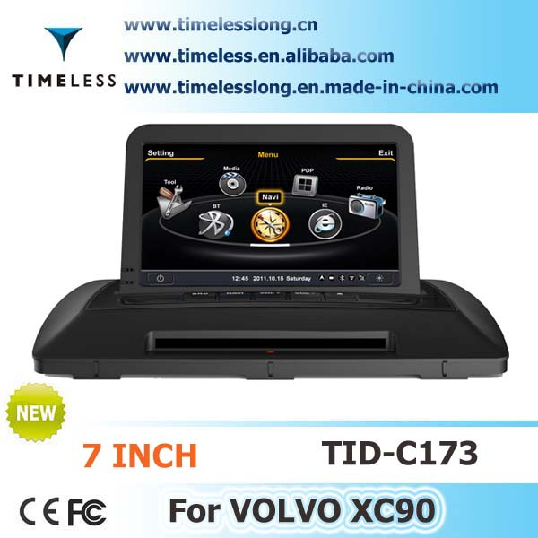 Car DVD for Volvo XC90 With GPS 7inch RDS Ipod Radio A8 Chipset 3G /Wifi 4G Flash