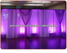 hot sell stage curtain,pipe and drape.