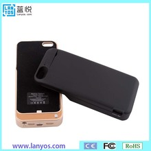 Best price 4200mah rose gold charging case for iphone 5s se