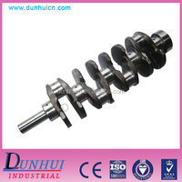 The cast iron engine crankshaft for TOYOTA diesel custom made crankshaft oil seal
