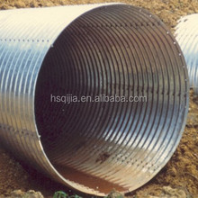 large diameter corrugated drainage pipe galvanized steel pipe size steel pipe sizes