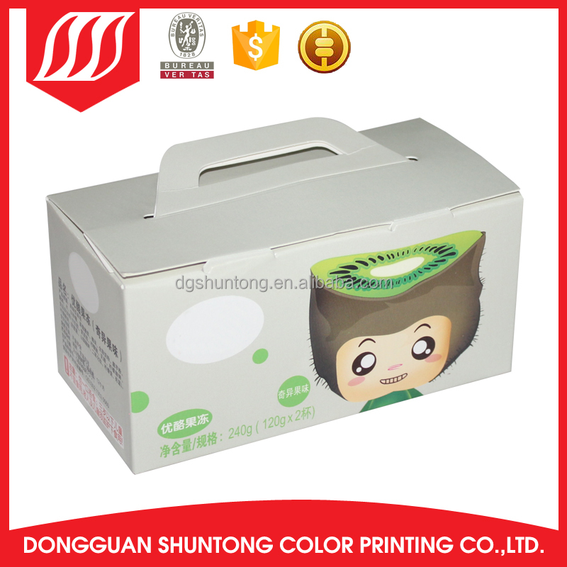 Disposable lamination cardboard box for jewelry