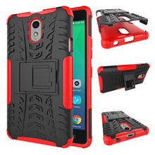 Case For Lenovo VIBE P1M, Handy Cover Tablet Combo Heavy Duty Hybrid Rugged Rubber Gel Armor Case