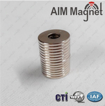 Radial Oriented Ring Sintered Neodymium Rare Earth Permanent N52 N35 Magnets/china Ndfeb Magnet Manufacturer
