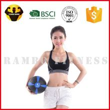 RAMBO Fine Workmanship Leather Crossfit Medicine Wall Ball