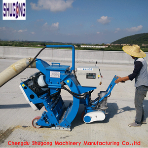 Customized road surface shot blasting machine /shot blaster for surface preparation