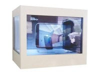 32inch single-sided transparent display advertising embedded in the wall project transparent lcd display