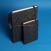 recycle pu leather agenda notebook from manufacturer