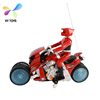 2018 hot sell rc toys 1:12 high quality amphibious rc motorcycle for children