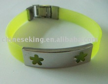 Stainless Steel Wristband,Rubber wristband,Silicon Wristband