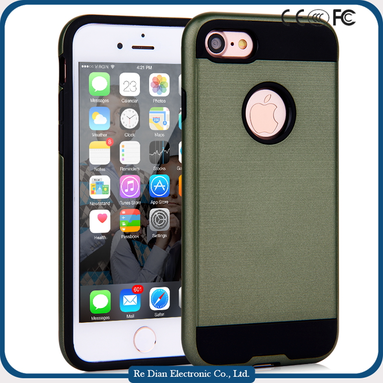 Hot Selling New Launch Shockproof Dustproof PC + TPU Mobile Case Cover For iPhone 7