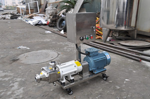 twin screw pumps with plc automatic control